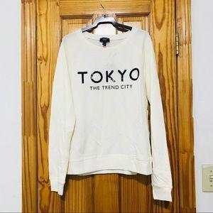 Brand New Mango Lightweight Sequined Sweatshirt